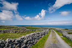 Boreen (Ray Moloney Photography) Tags: ifttt 500px sky mountains water travel island blue clouds coast ocean old architecture road beautiful grass white green wall stone fields islands walls ireland west aran atalantic innismore raymoloneyphoto innismor
