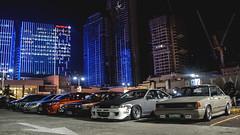 Group Shot (Justin Young Photography) Tags: cars manila philippines stancepilipinasmanilafitted nissan sentra sunny nismo b12 cefiro gtsr a31 toyota corolla e90 ae92 vios xp150 honda civic es1 hyundai getz click tb
