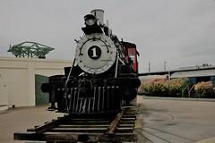 IMG_6652 (joyannmadd) Tags: galvestonrailroadmuseum texas trains railroad tracks traindpot museum historic cars engines memorobilia old sculptures silver diningcar menu plates wheels
