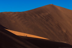 Big Daddy dune (Jirawatfoto) Tags: sand dune park national naukluft sossusvlei namibia red blowing africa desert abstract shifting yellow landscape environment window morning elements fire contrast safari afternoon flames wind namib