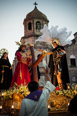 Procession (Arnel S. Bautista) Tags: church christianity catholic ola marikina father saints 35mm lowlight procession lent