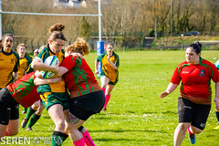 2017:03:25 14:07:50 (serenbangor) Tags: 2017 aberystwyth aberystwythuniversity bangoruniversity seren studentsunion undebbangor varsity rugby rugbyunion sport womens
