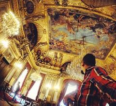 Llegando a los aposentos de #NapoleonIII en el #MuséeDuLouvre #París #Francia #France (Manu Arts) Tags: instagramapp square squareformat iphoneography uploaded:by=instagram rise