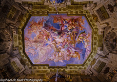 A Magnificent Painted Ceiling in the Belvedere (Raphael de Kadt) Tags: belvedere baroque vienna austria ceiling painted