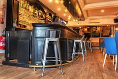 La coccinelle Pub_5212 (lucbarre) Tags: barbotanlesthermes gers coccinelle bar intérieur couleurs