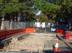 CBD & South East Light Rail - Surry Hills - Update 24 April 2017  (2) (john cowper) Tags: cselr sydneylightrail surryhills tracklaying alignment devonshirestreet wimbopark oliviagardens transportfornsw infrastructure acconia sydney newsouthwales