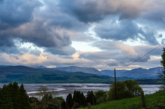 Cloudy end to the day (andythomas390) Tags: clouds menaistraits snowdonia northwales dusk nikon d7000 18200mm