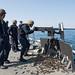 USS Fitzgerald Sailors keep skills sharp with M2 .50 caliber machine gun