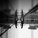 x4 (maekke) Tags: kyoto japan streetphotography pointofview pov reflection rain man travelling fujifilm x100t bw noiretblanc 2017 35mm