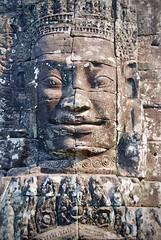 微笑吳哥 Smile of Angkor (ArthurJo) Tags: prasatbayon 巴戎廟 吳哥窟 大吳哥 吳哥 微笑的吳哥 angkor angkorthom cambodia 柬埔寨 bayon khmersmile
