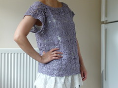 Lilac Lace Top (Pax *knits) Tags: lace top crochet lilac