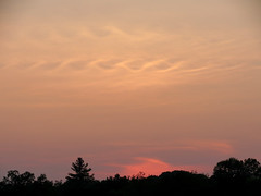 tonight's sunset (natureburbs) Tags: sunset sc clouds scenic orangesky dukefarms newjerseynature