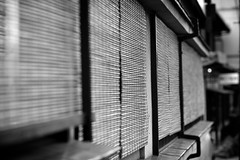 and windows (b.goh) Tags: windows bw white black monochrome japan kyoto blinds