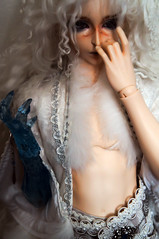 Dreadfully Chilly (TerraNoir7) Tags: ice ball doll ns lord bjd resin transparent fairyland abjd joint ital feeple65