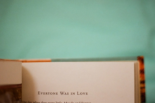 Everyone was in love.