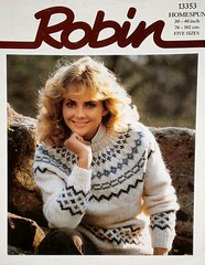 RobinG_11 (Homair) Tags: robin vintage sweater fuzzy fluffy mohair