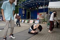 Untitled (LarryH.) Tags: street portrait colour japan photography tokyo fuji candid streetphotography documentary x100 fujifilmx100 fujix100