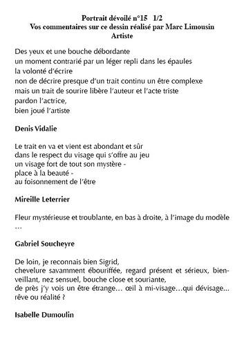 """dévoilement - critiques 15-1<br /><span style=""""font-size:0.8em;"""">Vos critiques sur le serial dessin de Marc Limousin page 1</span> • <a style=""""font-size:0.8em;"""" href=""""http://www.flickr.com/photos/12564537@N08/9215628606/"""" target=""""_blank"""">View on Flickr</a>"""