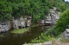 DSC_0997 (Klimenko-en) Tags: summer color green water river landscape outdoors rocks ukraine canyon amateur buki nikon1855mm