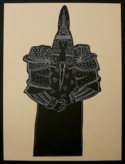 disegno 1983 (Renato Morselli) Tags: china art paper bianco nero carta disegno sagoma cartoncino
