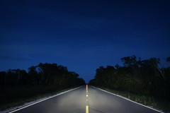Road to Nowhere (http://www.japhotovideo.com/) Tags: road composition photography perspective everglades bluehour