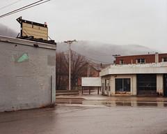 (Nicholas Kostner) Tags: mist mountain color 120 film rain fog mediumformat spring kodak pennsylvania pavement negative bronica valley 100 6x7 johnstown gs1 ektar 2013 pg100mm