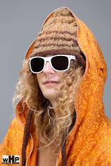 Ravi Drugan (Wind Home) Tags: portrait orange sun man hat hair studio mono glasses hoodie shot head clothes ravi skier drugan ravidrugan