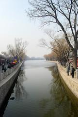 什刹海银锭桥西望 (shizhao) Tags: china bridge beijing 北京 中国 shichahai 北京市 200902