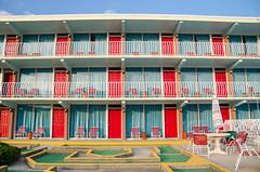 DSC_3604 (Christina Nalio) Tags: door red beach newjersey nj motel wildwood jerseyshore