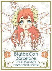 "Blythecon Barcelona 2014 ""Enchanted forest"""