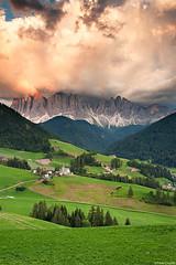 Odle Version #2 (Corsaro078) Tags: sunset sky mountain clouds landscape tramonto nuvole cielo montagna paesaggio dolomites dolomiti odle