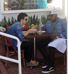 (Jonasbesties) Tags: cute lunch la friend candid joe jonas bulge 2013 joner