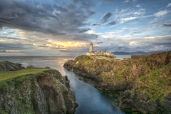 Fanad Head Lighthouse - Ireland (Gareth Wray - 13 Million Views, Thank You) Tags: ocean life county old blue ireland light sea summer sky irish cliff lighthouse house seascape building green tourism pool stone clouds rural lens landscape photography drive bay countryside site pond nikon rocks lough photographer angle natural head cove famous horizon wide scenic dramatic rocky landmark sealife visit tourist calm cliffs historic atlantic fox waters hd algae colourful nikkor gareth hdr donegal grassy wray fanad swilly strabane tonemapped oceanscape 1024mm d5200 bestcapturesaoi elitegalleryaoi blinkagain bestofblinkwinners hdfox
