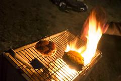 Jalapeno Burgers (Chazz Layne) Tags: california park camp usa geotagged site julian unitedstates desert state outdoor bbq grill adventure charcoal borrego campsite coals mountlaguna anza 2013 oausa borregofest geo:lat=3297832052 geo:lon=11643735898