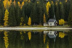 Mirror (Clickpix) Tags: travel italien autumn italy la