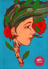 Rockabilly (Emi Renzi) Tags: plant planta art rock arte rockabilly draw dibujo emi renzi