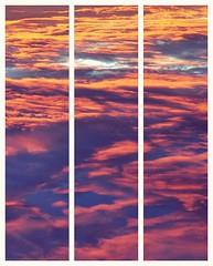 (Marina.vicente) Tags: sunset sky clouds atardecer three cielo nubes tres
