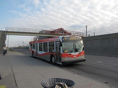 2008 New Flyer D40LFR #8087 (busdude) Tags: new calgary flyer transit d40lfr