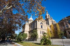 Museu Nacional d'Art de Catalunya (SjPhotoworld) Tags: barcelona christmas people sun holiday church spain museu catalunya catalunia citytrip nacionaldart