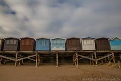 Beach Huts (sarahOphoto) Tags: wood uk sea beach sand painted united steps kingdom huts essex frinton groins frintononsea