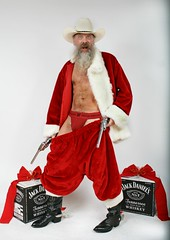 The Naughty Santa (Cowboy Tommy) Tags: santa jockstrap hairy hot sexy jock muscles sex beard model furry cowboy boots blueeyes manly handsome whiskey crotch western jackdaniels bulge lanky nastypig