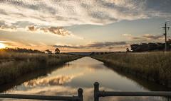 Sunset @ river
