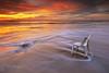 Lets watching .. (zakies) Tags: beach chair slowshutter sabah sabahisland sabahsunset labuansunset zakiesphotography mohdzakishamsudin amazingsabah zakiesphoto letswatchingtogether