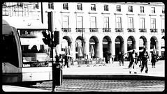 Praça do Comércio, Lisboa (mgkm photography) Tags: street travel cidade urban blackandwhite black art tourism portugal monochrome train photography photo nikon europa europe tour emotion lisboa lisbon transport gimp sigma railway rua monochrom turismo pretoebranco bnw blackandwhitephotography eletrico eléctrico architecturephotography blackwhitephotos ptbw ilustrarportugal d7000 nikonflickraward flickrtravelaward streettogs igersportugal bnwportugal