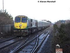 221 departs Portlaoise, 11/1/14 (hurricanemk1c) Tags: irish train gm rail railway trains 221 railways irishrail 201 generalmotors 2014 emd iarnrd ireann iarnrdireann 1320corkheuston