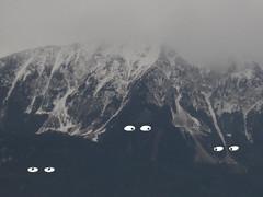 Mountain (Debra Figueroa) Tags: mountain alps eyes drawing slovenia bled ilustration glances