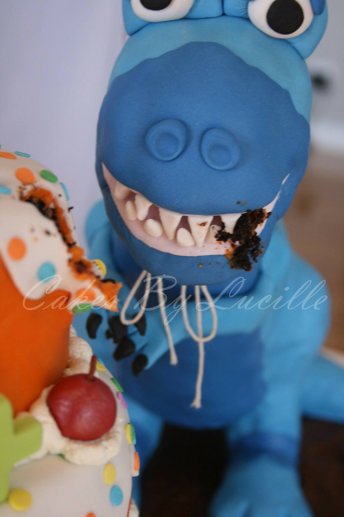 Edible Cake Images Launceston : The World s Best Photos of dinosaur and fondant - Flickr ...