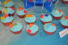 Finding Nemo Vanilla Cupcakes (rikkitikitavi) Tags: cake coral seashells dessert shark nemo handmade chocolate sealife disney cupcake vanilla squirt reef dory findingnemo milkchocolate fondant buttercream frenchvanilla brucetheshark handsculpted cakeball cakepop