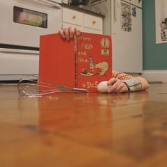 elementary cooking (sonyacita) Tags: kitchen book floor egg drseuss utata:project=ip191
