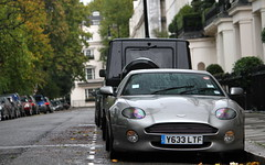 Aston Martin DB7. (Tom Daem) Tags: london martin aston db7 vision:text=0503 vision:outdoor=0961 vision:car=0666